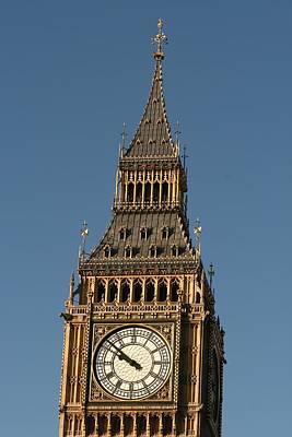 Poster featuring the photograph Big Ben by Andrei Fried