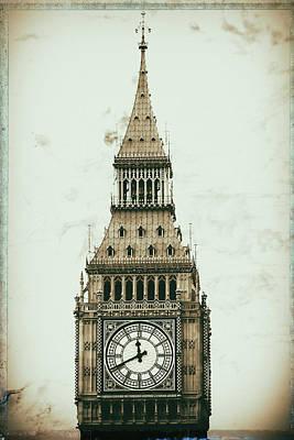 Big Ben Poster by Martin Newman
