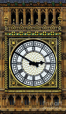 Big Ben Portrait Poster