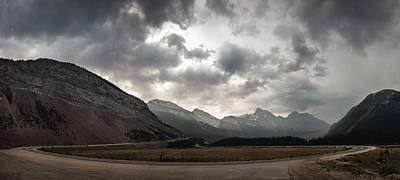 Icefields Parkway Poster by Cale Best