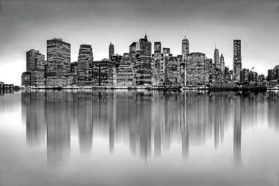 Big City Reflections Poster by Az Jackson