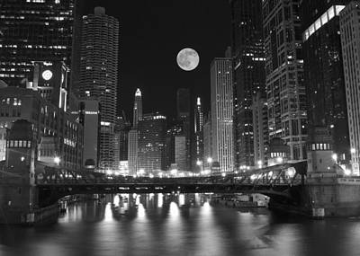 Big City Windy City Poster by Frozen in Time Fine Art Photography