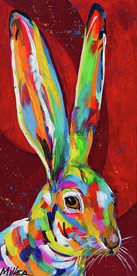 Big Ears Poster by Tracy Miller