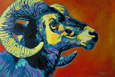 Big Horn Poster by Derrick Higgins