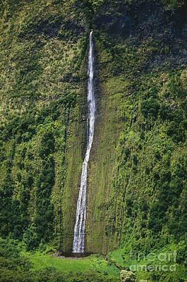 Big Island Waterfall Poster