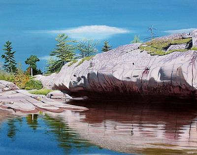 Big River Rock Poster