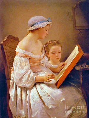 Big Sister 1850 Poster by Padre Art
