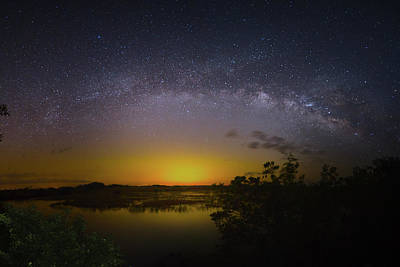 Big Sky Galaxy Poster
