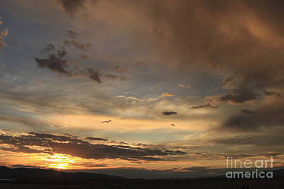 Big Sky Sunset Poster by Carolyn Brown