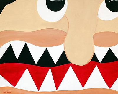 Big Smile Poster by Sal Marino