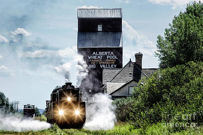 Big Valley Steam Poster