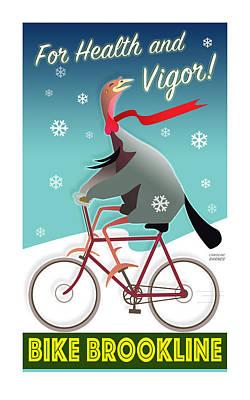 Bike Brookline Poster