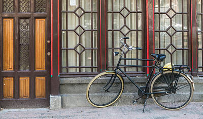 Bike In Amsterdam Poster