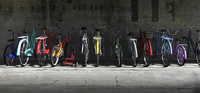Bike Rack Poster