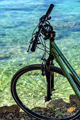 Biking The Rovinj Coastline - Rovinj, Istria, Croatia Poster