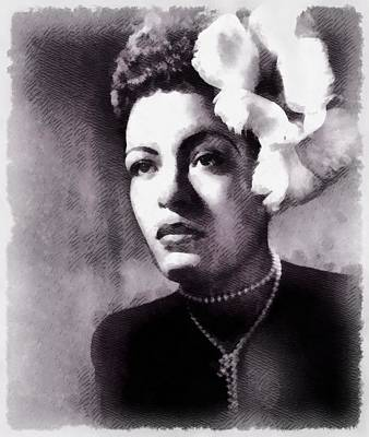 Billie Holiday, Singer Poster