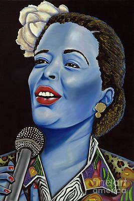 Billie Poster by Nannette Harris