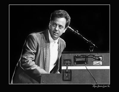 Billy Joel Poster by Roger Lyon