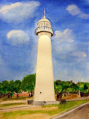 Biloxi Lighthouse Poster