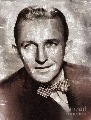 Bing Crosby By Mary Bassett Poster