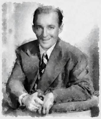 Bing Crosby Poster by Esoterica Art Agency