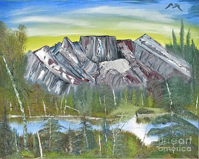 Birch Mountains Poster