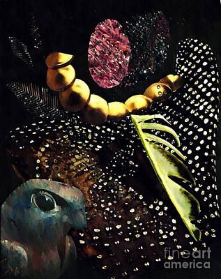 Bird God Poster by Sarah Loft