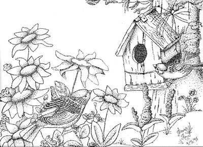Bird House Poster by Scarlett Royal