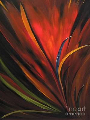 Bird Of Paradise Poster by Carol Sweetwood