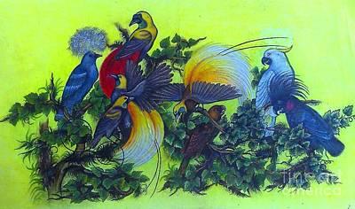 Bird Watercolor Poster