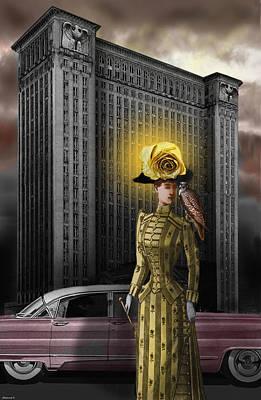 Bird Woman Poster by Larry Butterworth