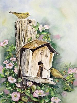 Birdhouse Buddies Poster