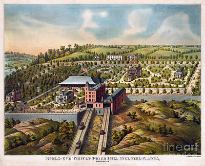 Birds-eye View Of Price Hill Inclined Planes Poster