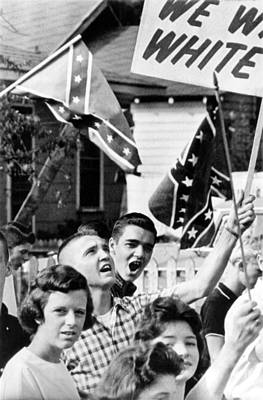 Birmingham, Alabama Students Wave Poster by Everett