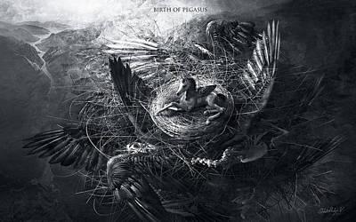 Birth Of Pegasus Poster