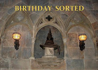 Birthday Sorted Poster by David Nicholls