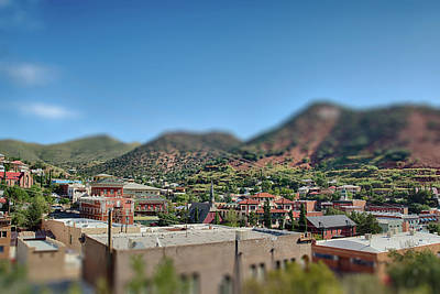 Poster featuring the photograph Bisbee Arizona by Dan McManus