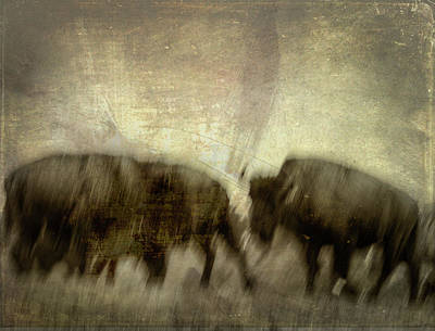 Poster featuring the photograph Bison 3 by Joye Ardyn Durham