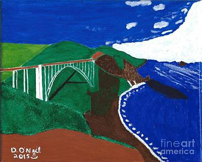 Bixby Bridge Blues Poster