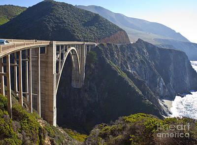 Bixby Bridge Crossing A Chasm Poster