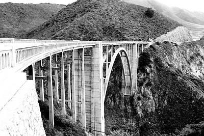 Bixby Bridge Poster