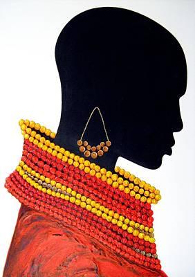 Black And Red - Original Artwork Poster