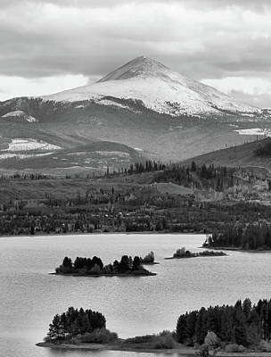 Poster featuring the photograph Black And White Breckenridge by Dan Sproul