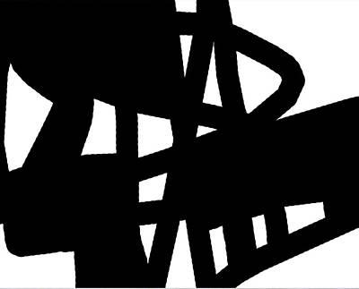 Black And White Poster by International Artist Brent Litsey