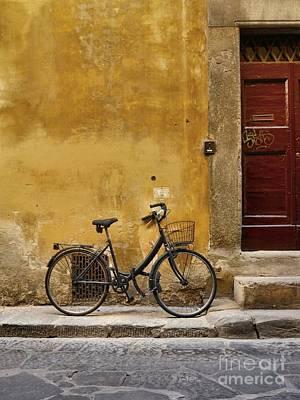 Black Bike Poster