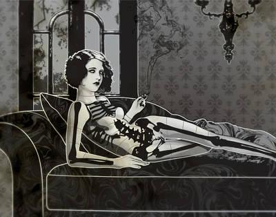 Black Blanche Poster