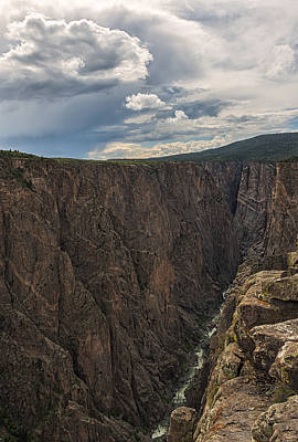 Black Canyon Of The Gunnison Poster by Loree Johnson