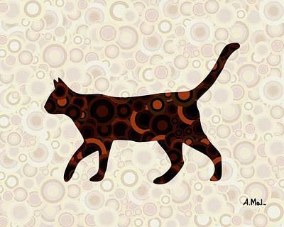 Black Cat - Animal Art Poster