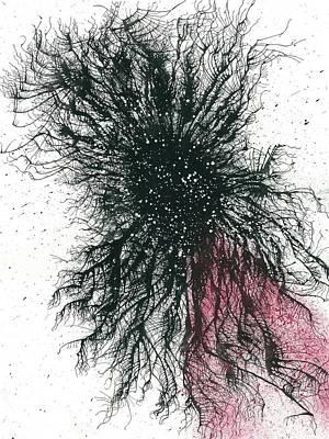Black Hole Cosmology #675 Poster by Rainbow Artist Orlando L aka Kevin Orlando Lau