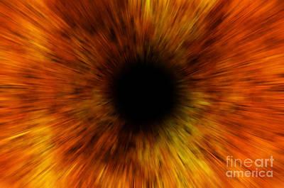 Black Hole Poster by Michal Boubin